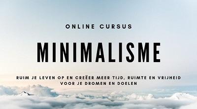 online cursus minimaliseren